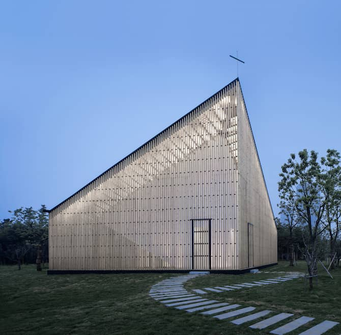 Impeccable Density Infused - Garden Chapel Envisioned by AZL Architects homesthetics architecture (3)
