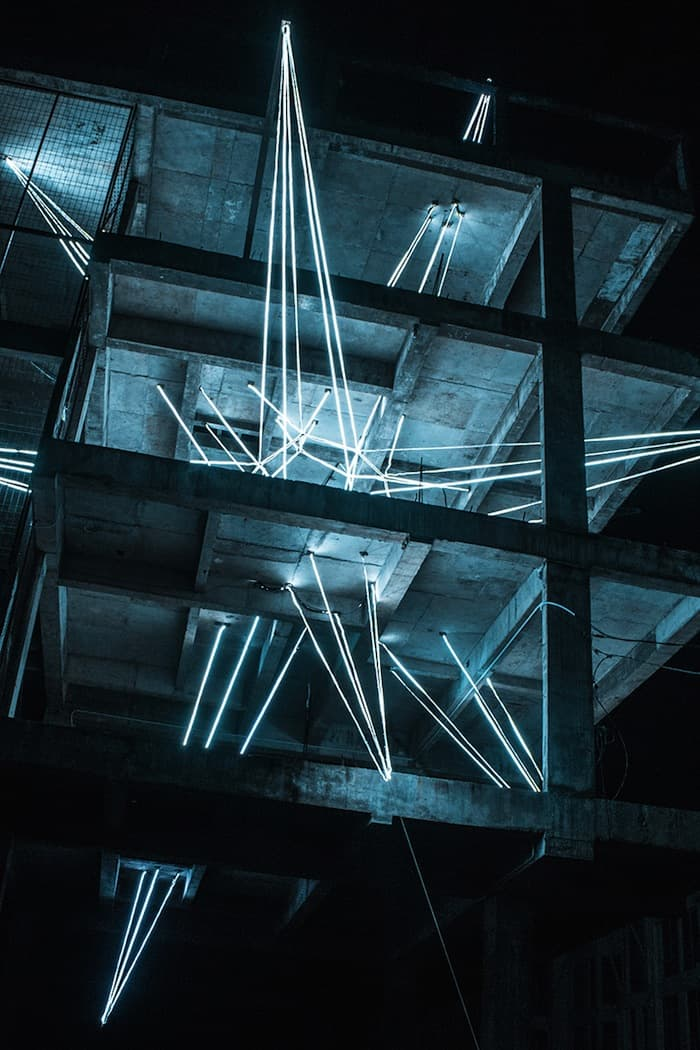 Jun Ong Designs Giant Glowing Star Installation of Immense Beauty homesthetics art (2)