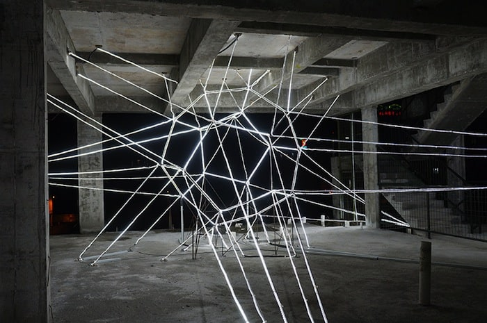 Jun Ong Designs Giant Glowing Star Installation of Immense Beauty homesthetics art (4)