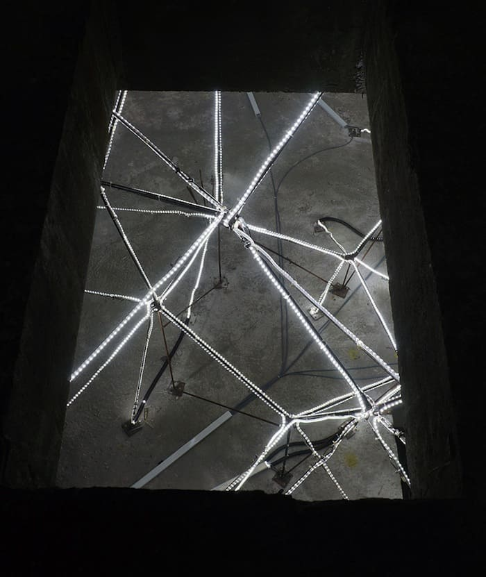 Jun Ong Designs Giant Glowing Star Installation of Immense Beauty homesthetics art (7)