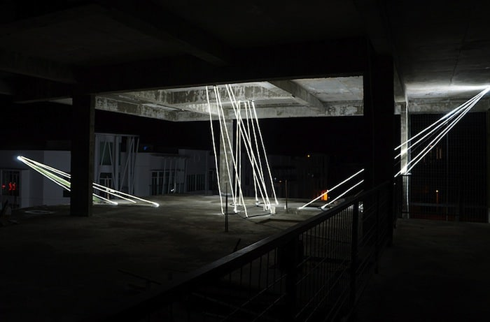 Jun Ong Designs Giant Glowing Star Installation of Immense Beauty homesthetics art (8)