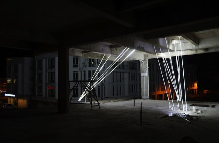 Jun Ong Designs Giant Glowing Star Installation of Immense Beauty homesthetics art (9)