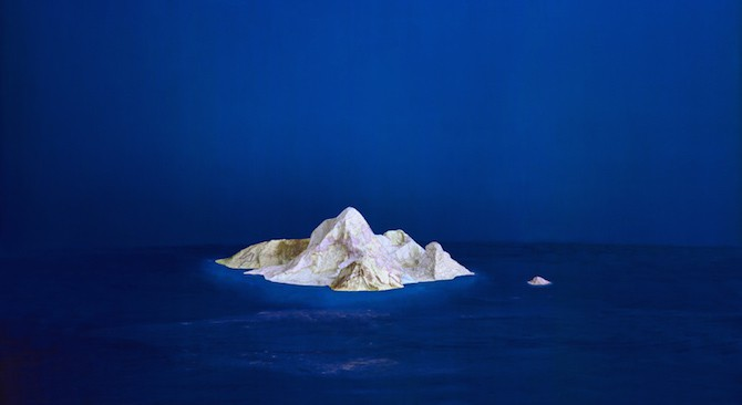 Maps Sculpted by Ji Zhou Into Three-Dimensional Landscapes homesthetics art (4)