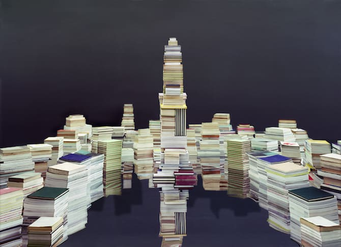 Maps Sculpted by Ji Zhou Into Three-Dimensional Landscapes homesthetics art (7)