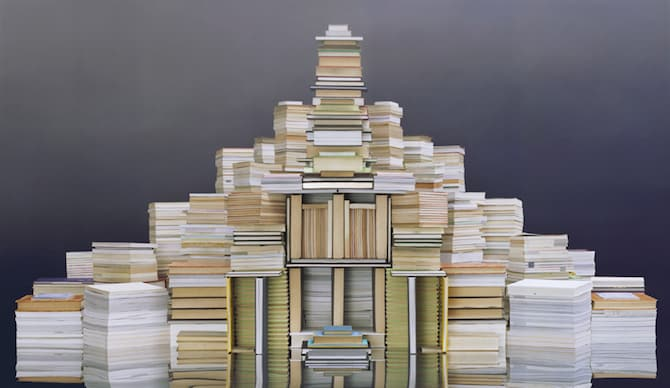 Maps Sculpted by Ji Zhou Into Three-Dimensional Landscapes homesthetics art (9)