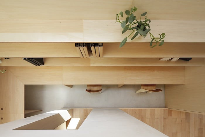 Minimalist Japanese Wooden Home Flooded by Sunlight Signed mA-Style Architects homesthetics (14)