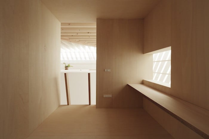 Minimalist Japanese Wooden Home Flooded by Sunlight Signed mA-Style Architects homesthetics (15)