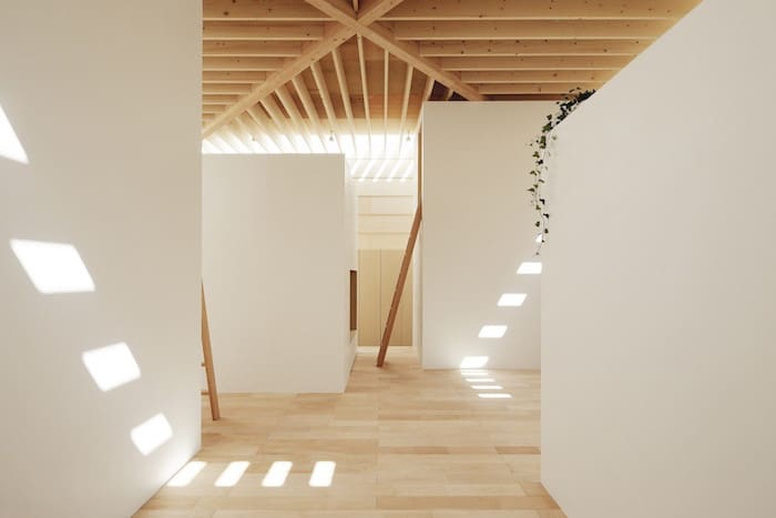 Minimalist Japanese Wooden Home Flooded by Sunlight Signed mA-Style Architects homesthetics (7)