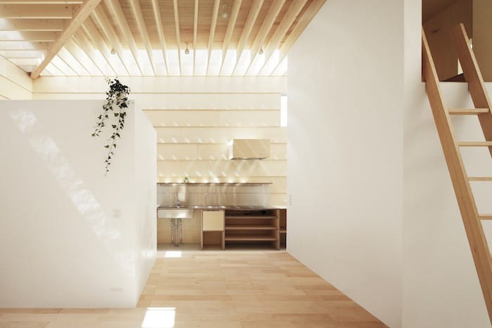 Minimalist Japanese Wooden Home Flooded by Sunlight Signed mA-Style Architects homesthetics (8)