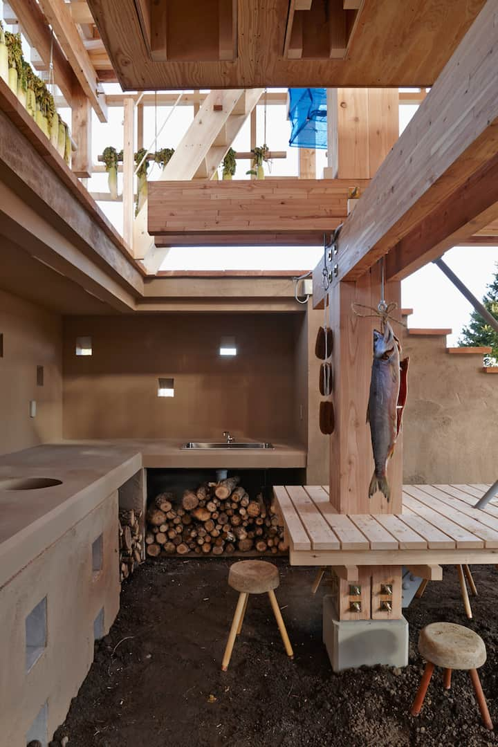 Nest We Grow Timber Structure In The Island of Hokkaido by KK homesthetics (5)