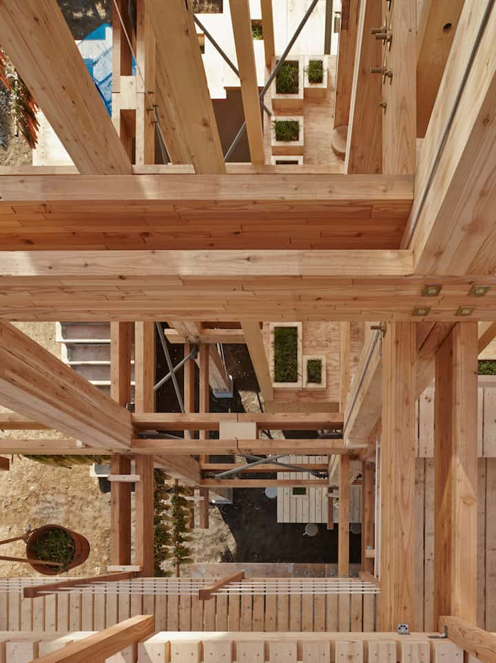 Nest We Grow Timber Structure In The Island of Hokkaido by KK homesthetics (6)