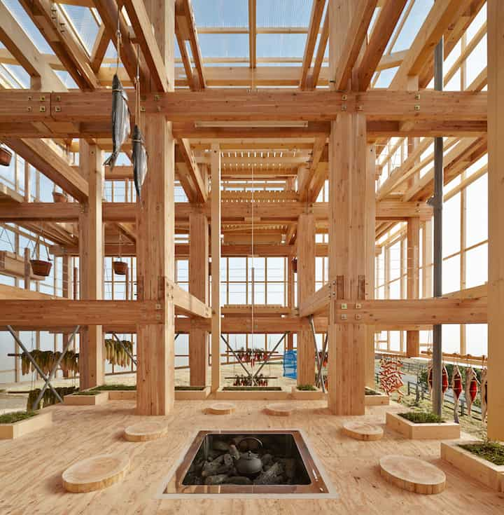 Nest We Grow Timber Structure In The Island of Hokkaido by KK homesthetics (7)