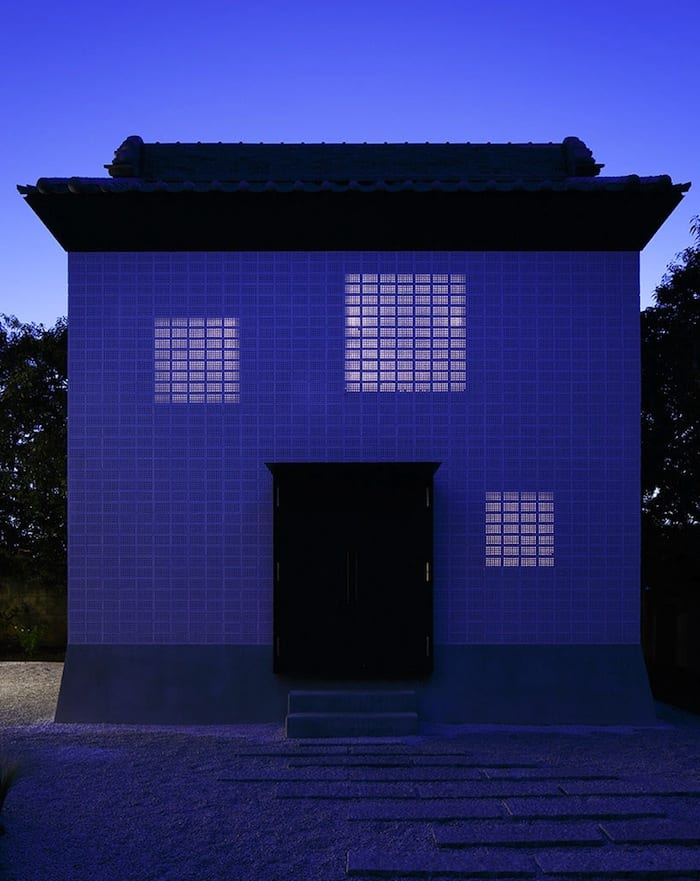 Perforated Brick Walls on a Home by Ryo Matsui Architects homesthetics (10)