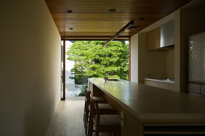 Perforated Brick Walls on a Home by Ryo Matsui Architects homesthetics (6)