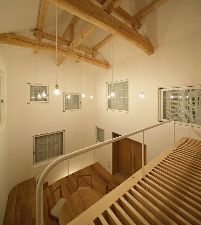 Perforated Brick Walls on a Home by Ryo Matsui Architects homesthetics (7)