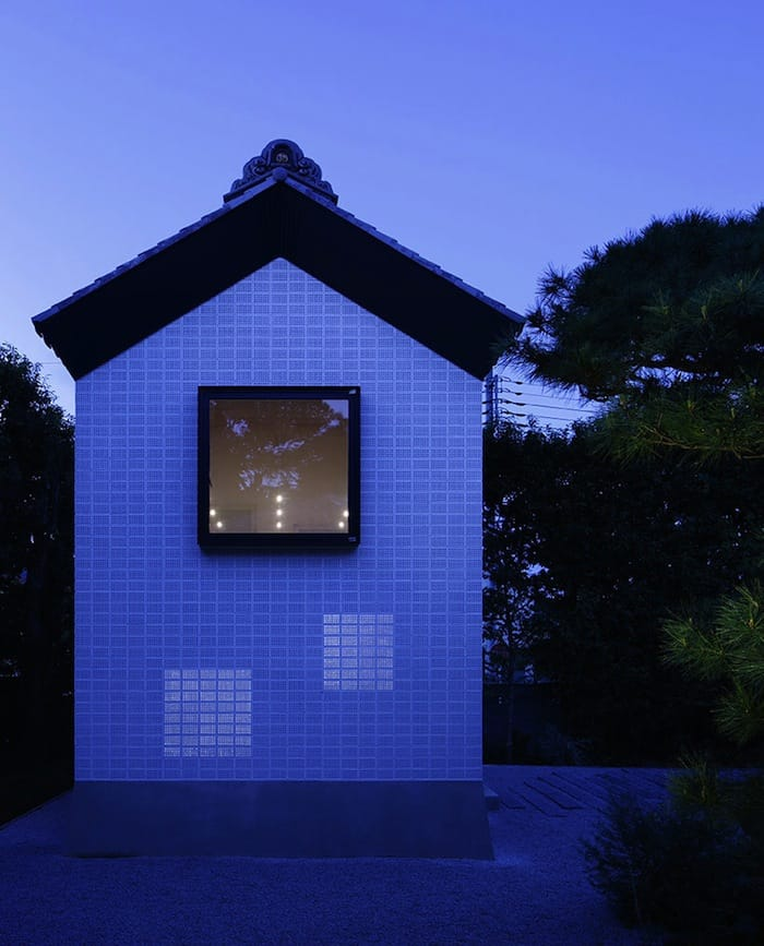 Perforated Brick Walls on a Home by Ryo Matsui Architects homesthetics (9)