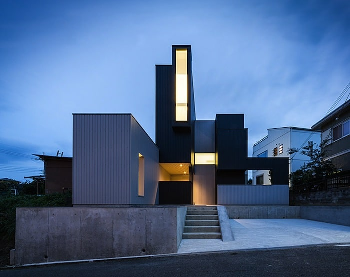 Quadratic Composition With A View By FORMKouichi Kimura Architects homesthetics 1