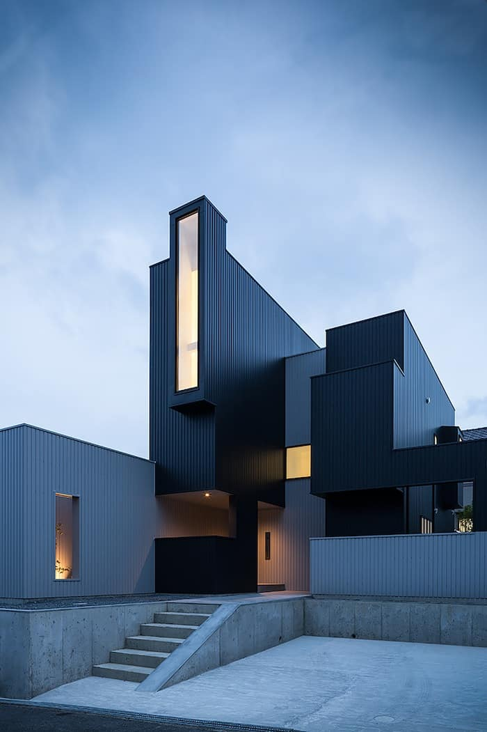Quadratic Composition With A View By FORMKouichi Kimura Architects homesthetics (2)