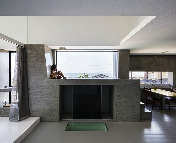 Quadratic Composition With A View By FORMKouichi Kimura Architects homesthetics (8)
