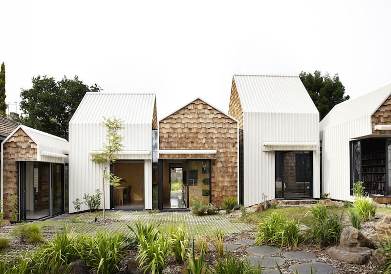 Seven Small Homes Constituting the Tower House by Andrew Maynard Architects 1