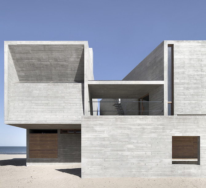 Simple Raw Beauty in a Seashore Library Designed by Vector Architects (5)