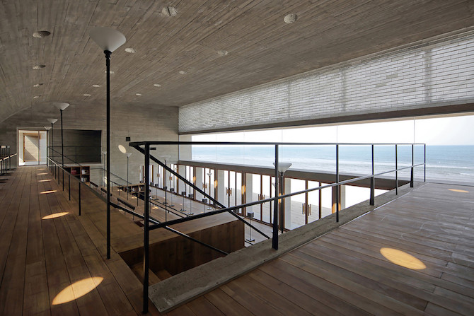 Simple Raw Beauty in a Seashore Library Designed by Vector Architects (9)