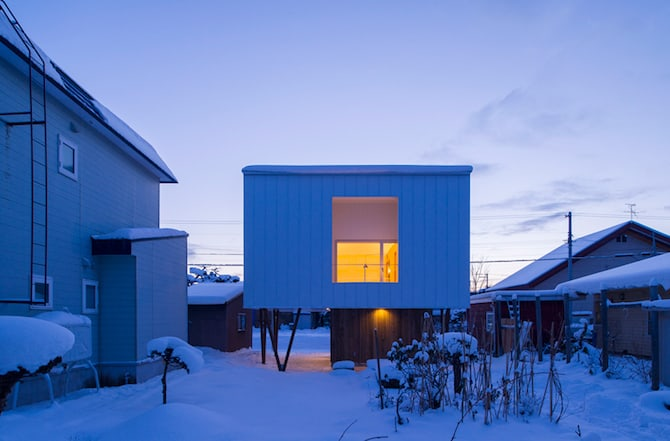 Simple and Beautiful Japanese Home Envisioned by archi LAB 2