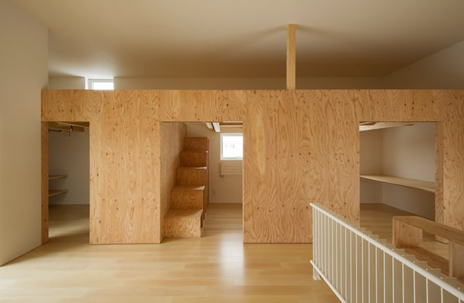 Simple and Beautiful Japanese Home Envisioned by archi LAB (3)