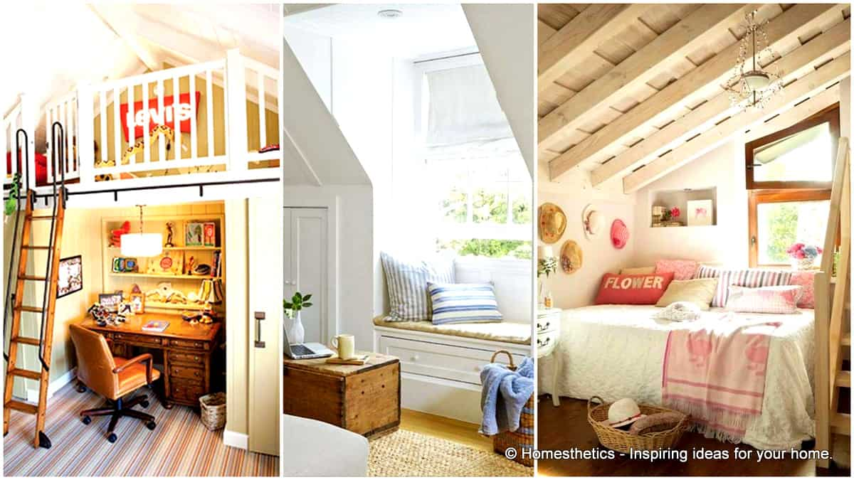 23 Spectacular Design Ideas For Unused Attic Space & 23 Spectacular Design Ideas For Unused Attic Space - Homesthetics ...
