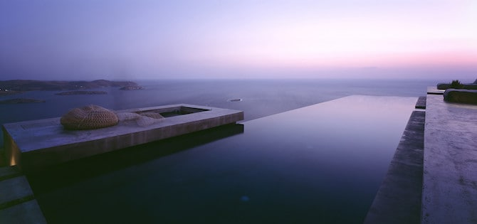 Twin Holiday Homes Forged Into Rock Overlooking The Aegean homesthetics architecture (11)