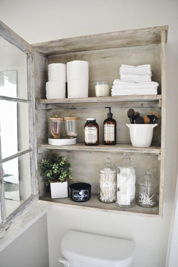 18 Shabby Chic Bathroom Ideas Suitable For Any Home (12)