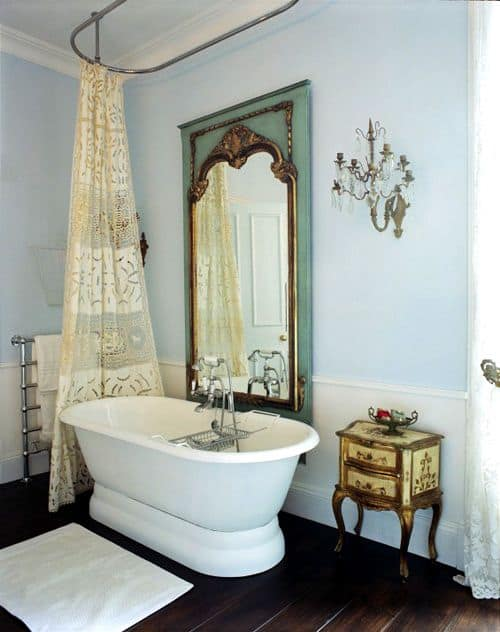 18 Shabby Chic Bathroom Ideas Suitable For Any Home 15