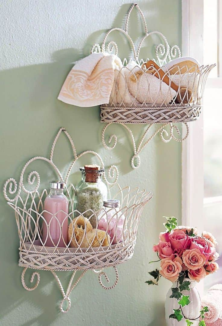 18 Shabby Chic Bathroom Ideas Suitable For Any Home (16)