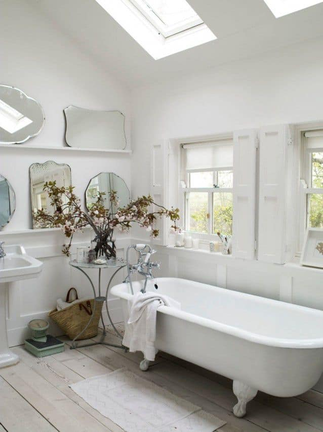 18 Shabby Chic Bathroom Ideas Suitable For Any Home 3
