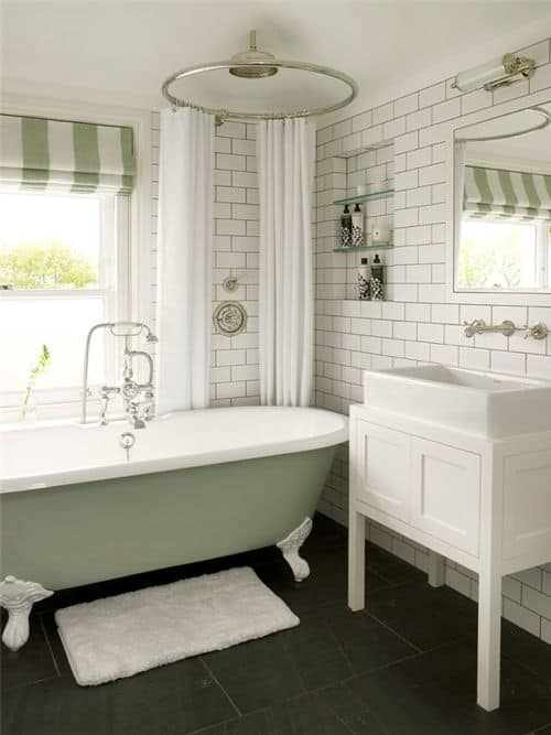 18 Shabby Chic Bathroom Ideas Suitable For Any Home (5)