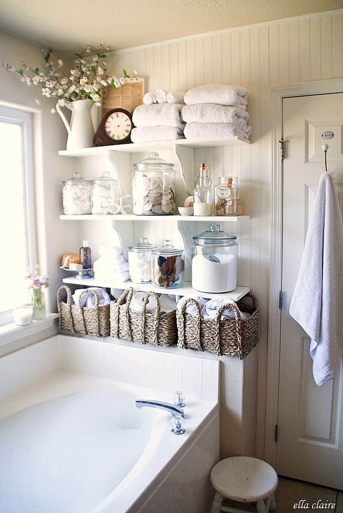 18 shabby chic bathroom ideas suitable for any home 7 - Bathroom Decorating Ideas Shabby Chic