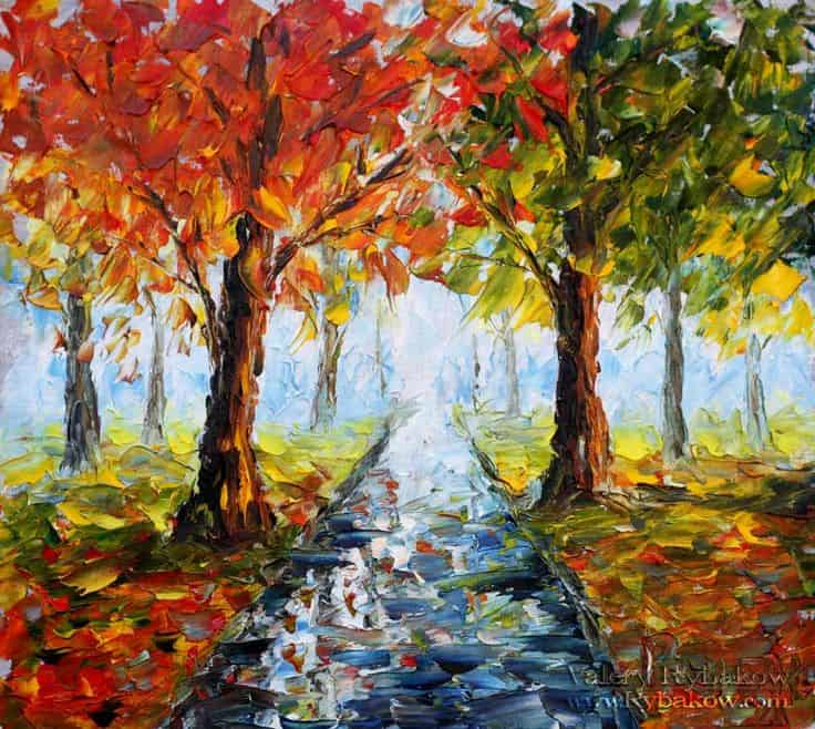 20 oil and acrylic painting ideas for enthusiastic for Nice acrylic paintings