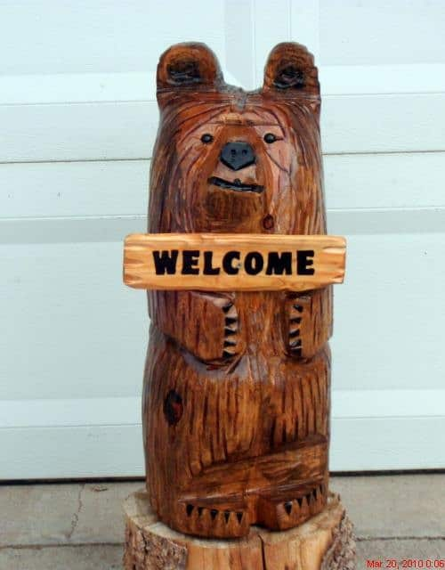 20 Wood Carving Ideas For a Rustic Home Decor (4)