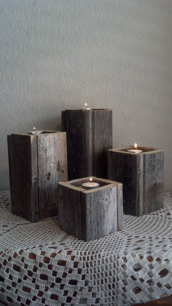 23 Wooden Candle Holders And Candle Holder Centerpiece