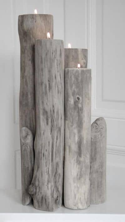 21 23 Stunning Wooden Candle Holders and Candle Holder Centerpiece Detailed Guide homesthetics decor (11)