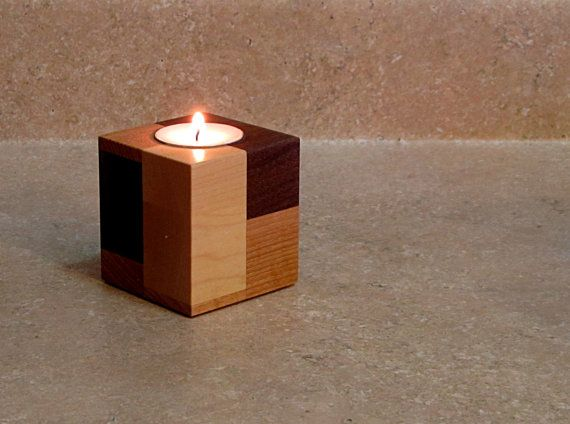 23 wooden candle holders and candle holder centerpiece for Diy wooden pillar candle holders