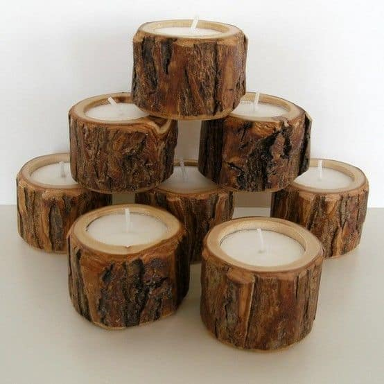 21 23 Stunning Wooden Candle Holders and Candle Holder Centerpiece Detailed Guide homesthetics decor (18)