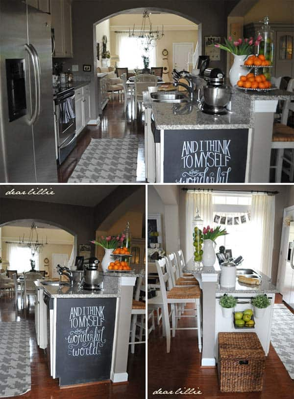 21 Simply Beautiful Ways To Use Chalkboard Paint On a ...