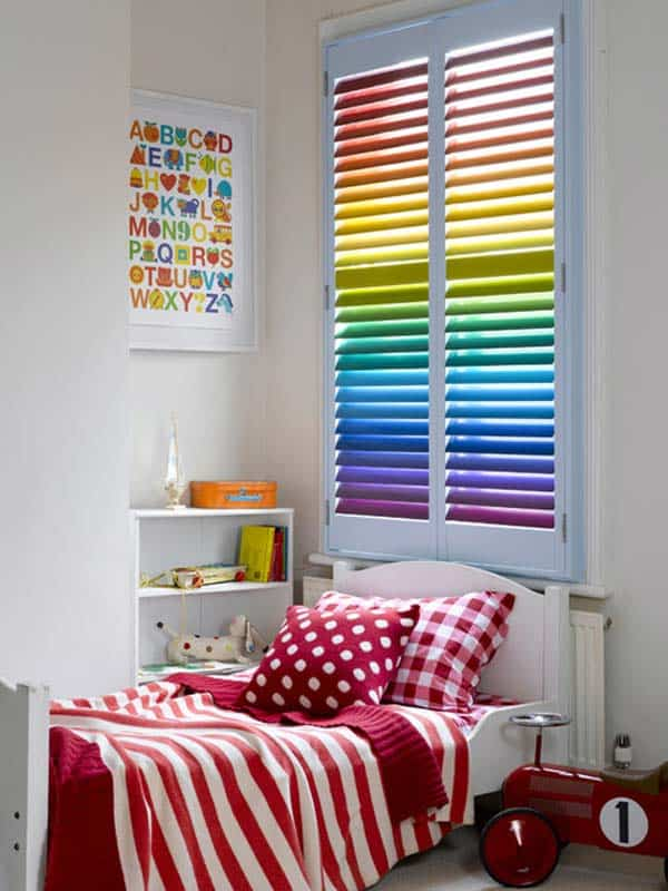 21 Splendid Ways to Add Rainbow Colors in Your Home Decor homesthetics magazine (10)