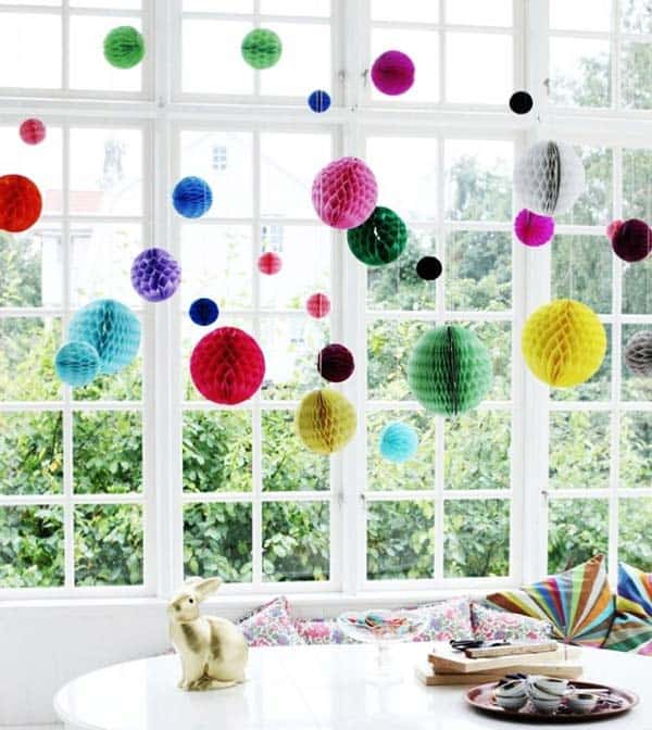 21 Splendid Ways to Add Rainbow Colors in Your Home Decor homesthetics magazine (22)