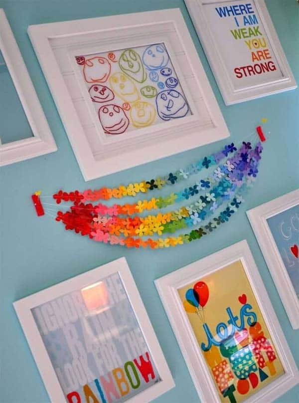 21 Splendid Ways to Add Rainbow Colors in Your Home Decor homesthetics magazine (7)