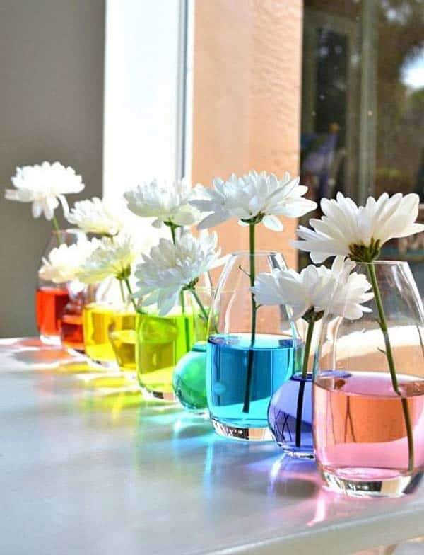 21 Splendid Ways to Add Rainbow Colors in Your Home Decor homesthetics magazine (9)
