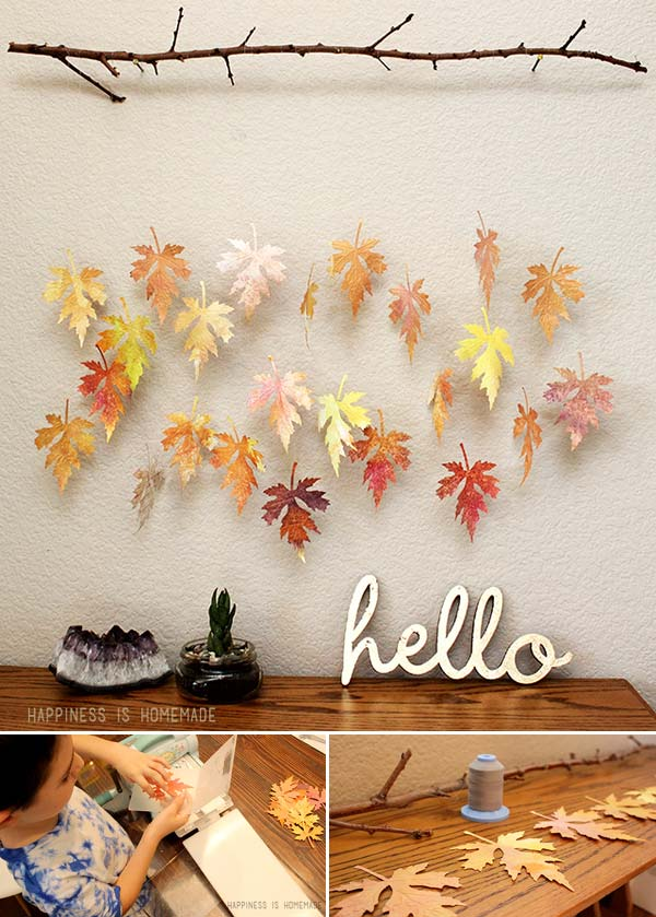 #1 CRAFT PAPER LEAVES FOR YOUR FALL DECOR