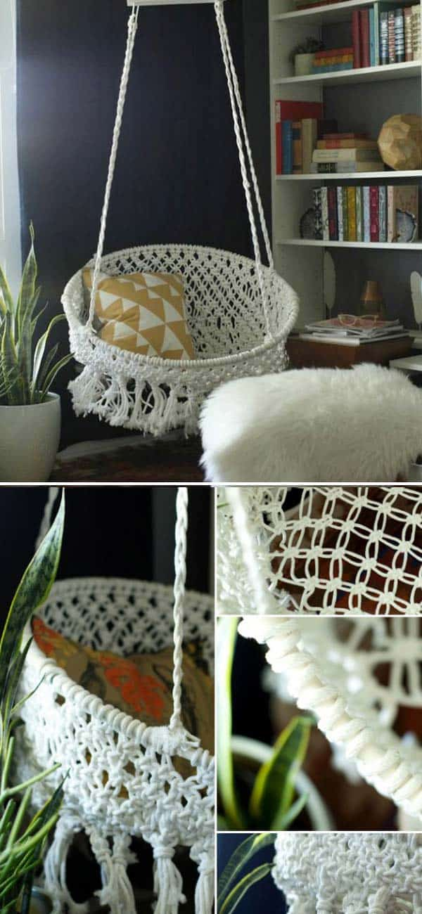 #14 Tailor A DIY Hanging Chair