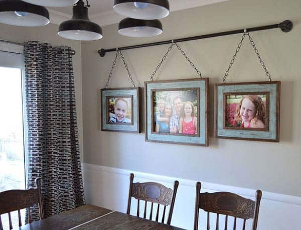 #21 DECORATE YOUR DECOR WITH FAMILY PHOTOS